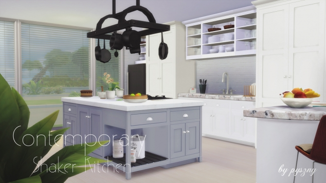 Kitchen sims 4 updates best ts4 cc downloads page 5 for Sims 4 kitchen designs