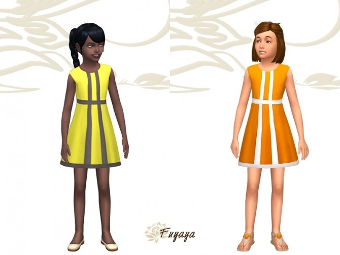 Sims 4 Skaty dress by Fuyaya at Sims Artists