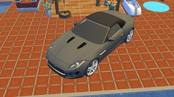 Sims 4 Jaguar F Type at LorySims