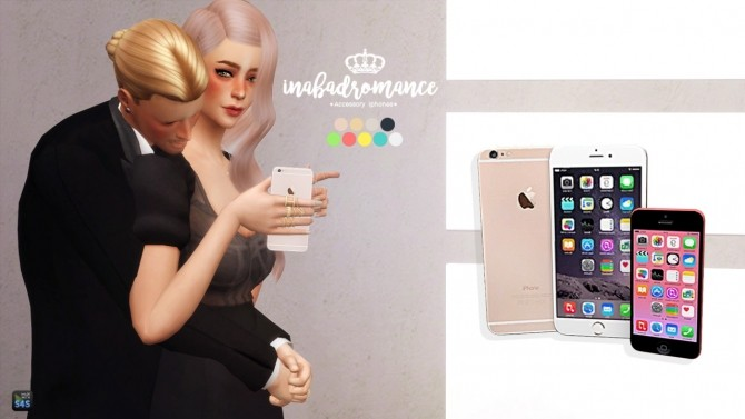 Accessory Iphones (new, random models) at In a bad Romance image 1188 670x377 Sims 4 Updates