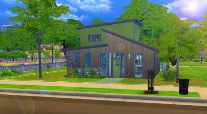 Sims 4 Contempo house by talkingqueen at Mod The Sims