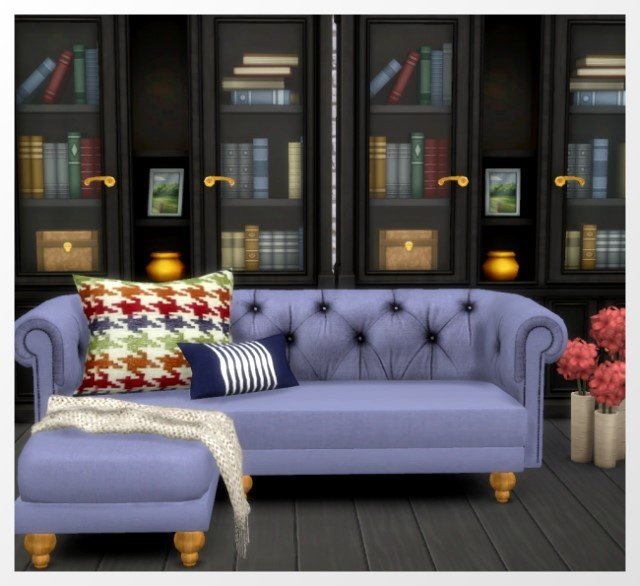 Sims 4 Life in a Forest Sofa Recolors by Oldbox at All 4 Sims