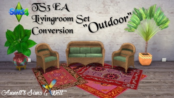 EA Living Set Outdoor Conversion at Annett's Sims 4 Welt image 1224 670x377 Sims 4 Updates