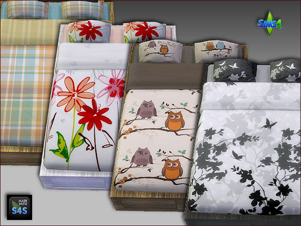 Bedframes and beddings by Mabra at Arte Della Vita image 1246 Sims 4 Updates