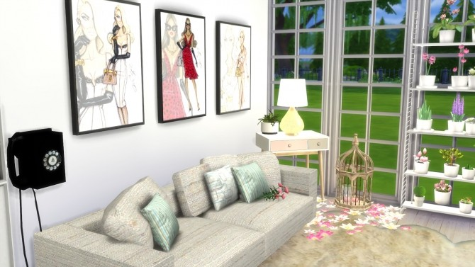 Sims 4 Look Tips Room Tour at Dinha Gamer