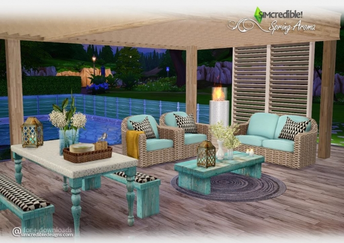 Outdoor sims 4 updates best ts4 cc downloads page 3 for Sims 4 exterior design