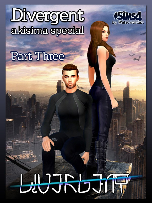 DIVERGENT Poster by Waterwoman at Akisima image 13613 Sims 4 Updates