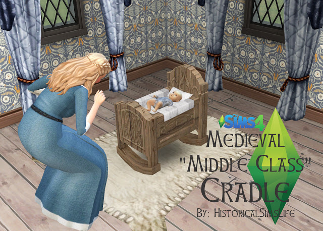Medieval Middle Class Crib By Anni K At Historical Sims