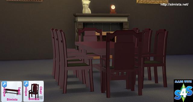 Polished Antique Furniture at Simista image 1405 Sims 4 Updates