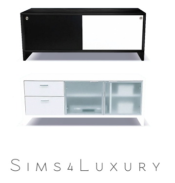Sims 4 Dinning Sideboard at Sims4 Luxury