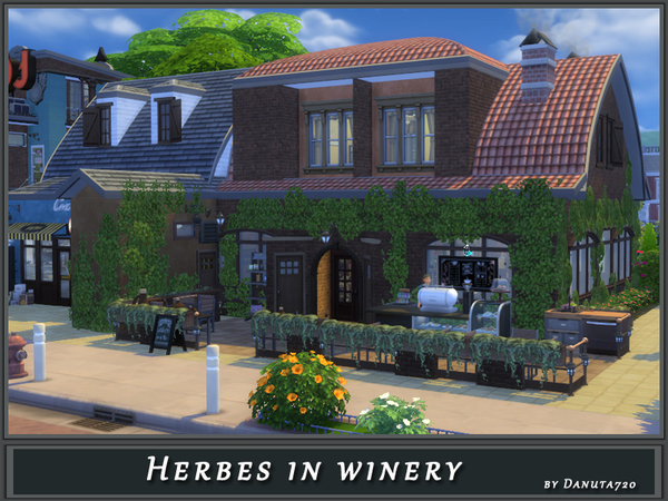 Herbes in winery by Danuta720 at TSR image 1412 Sims 4 Updates