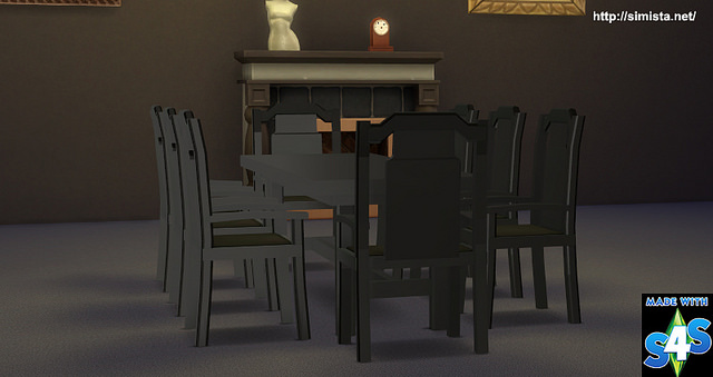 Sims 4 Polished Antique Furniture at Simista