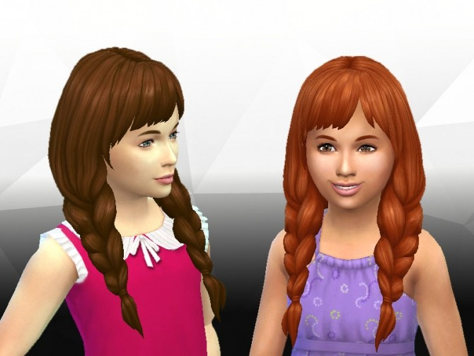 Spring Braids for Girls at My Stuff image 1434 670x503 Sims 4 Updates