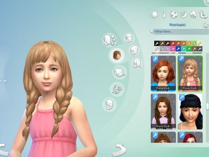 Spring Braids for Girls at My Stuff image 1464 670x503 Sims 4 Updates