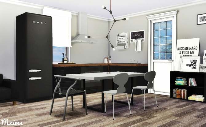 Scandinavian Dining Room At Mxims 187 Sims 4 Updates