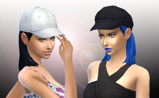 Sims 4 Modest Bun at My Stuff