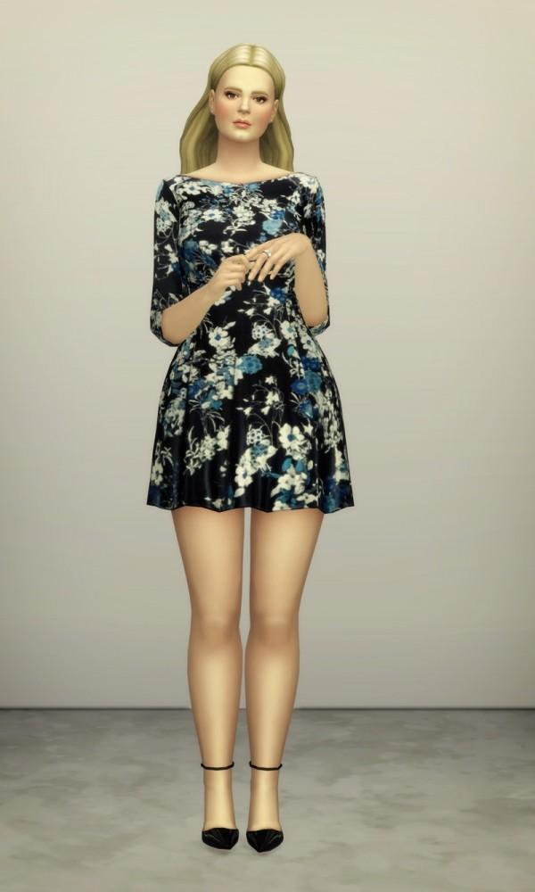 Floral dress at Rusty Nail image 1559 600x1000 Sims 4 Updates