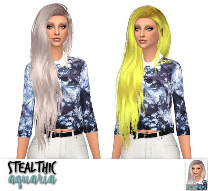 Sims 4 Stealthic aquaria + genesis + high life at Nessa Sims