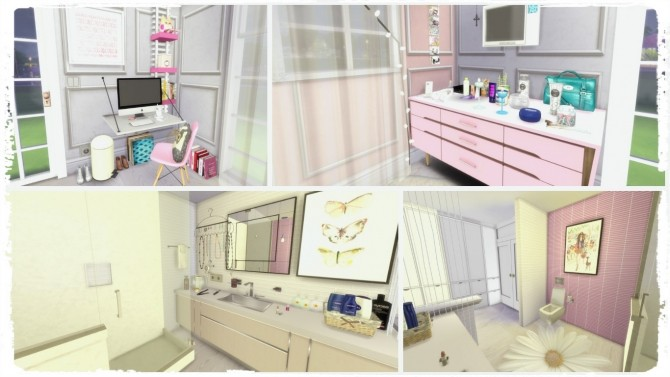Pink Bedroom at Dinha Gamer image 1678 670x377 Sims 4 Updates
