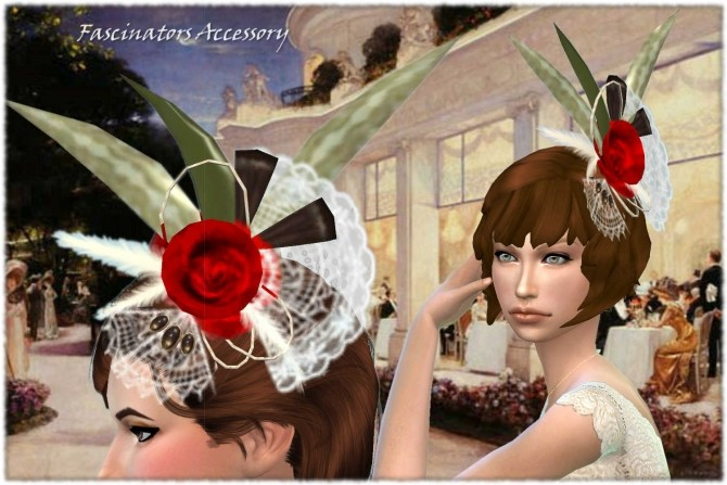 Sims 4 Vintage Hat Fascinators at Mythical Sims