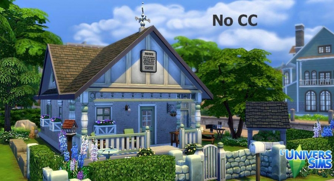 Old fashion house by sirhc59 at l universims sims 4 updates for Classic house sims 4