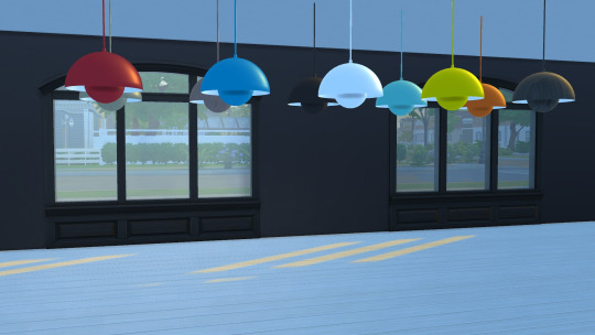 Sims 4 Flowerpot Pendant Light VP1 at Meinkatz Creations