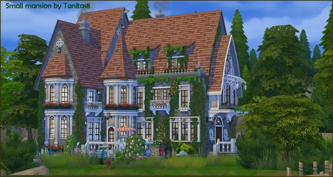 Small mansion at Tanitas8 Sims image 1804 670x356 Sims 4 Updates
