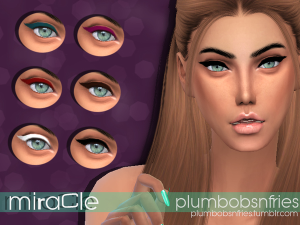 Miracle Liner by Plumbobs n Fries at TSR image 1810 Sims 4 Updates