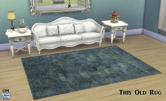 Sims 4 14 aged rugs by OM at Sims 4 Studio