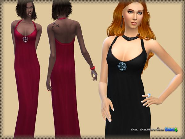 Dress Angelique by bukovka at TSR image 1817 Sims 4 Updates