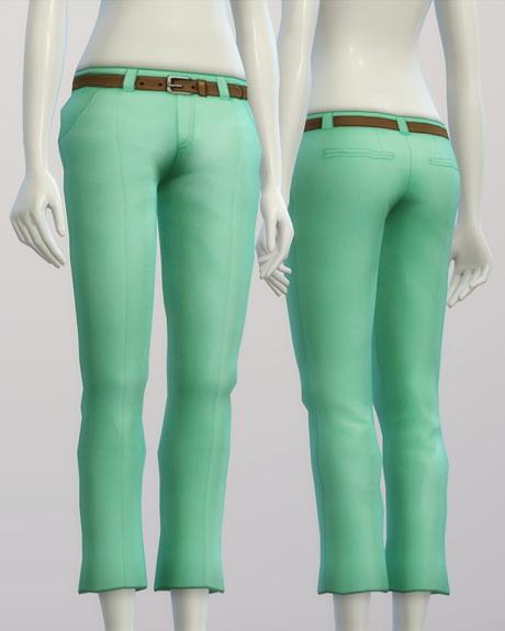 Basic slacks F 20 colors at Rusty Nail image 182 Sims 4 Updates