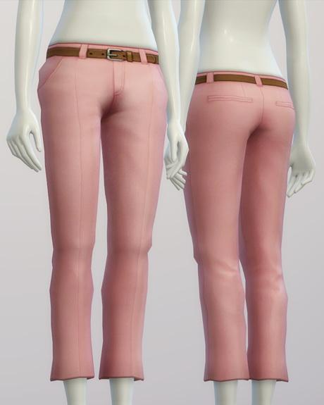 Basic slacks F 20 colors at Rusty Nail image 183 Sims 4 Updates