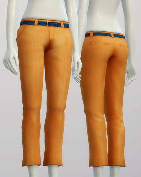 Basic slacks F 20 colors at Rusty Nail image 184 Sims 4 Updates
