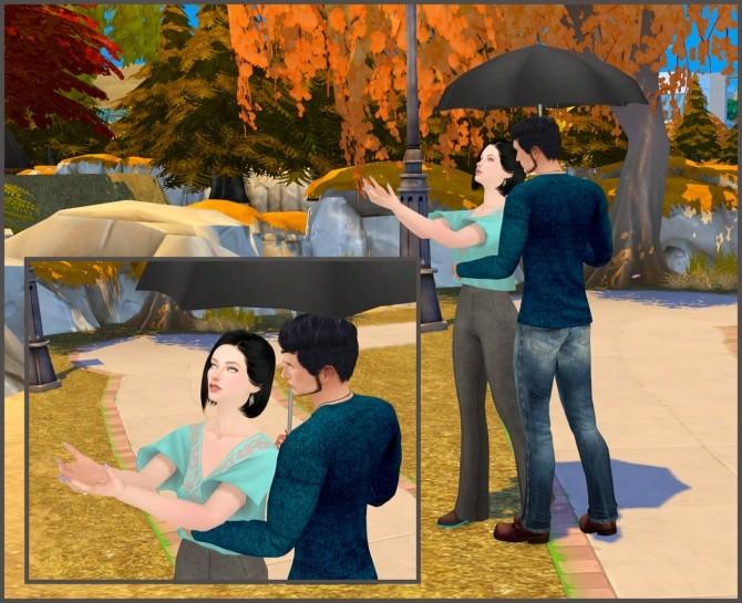 With umbrella couple poses at Rethdis love image 1845 670x545 Sims 4 Updates
