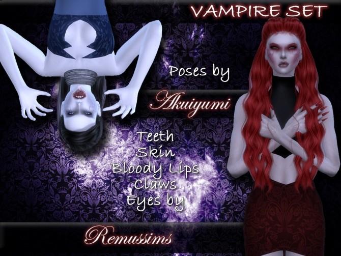 Vampire set at Taty – Eámanë Palantír image 18510 670x503 Sims 4 Updates