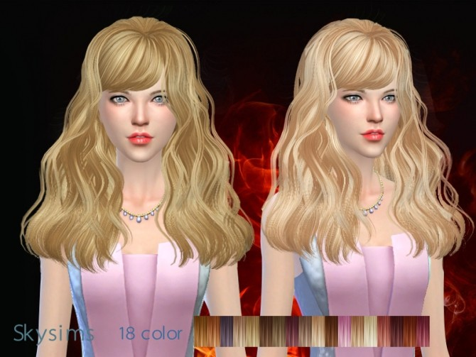 Skysims hair 066g (Pay) at Butterfly Sims image 1857 670x503 Sims 4 Updates
