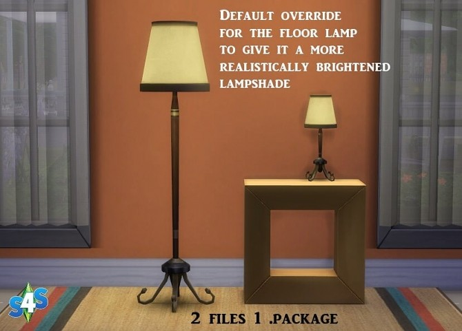 Floor And Table Lamp At Sims 4 Studio 187 Sims 4 Updates