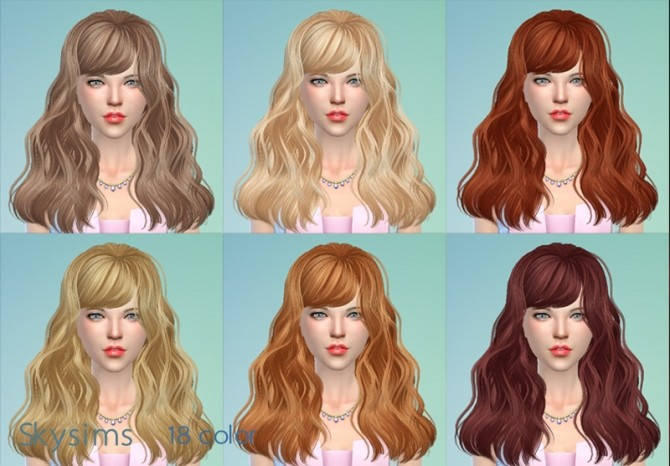 Skysims hair 066g (Pay) at Butterfly Sims image 1879 670x466 Sims 4 Updates