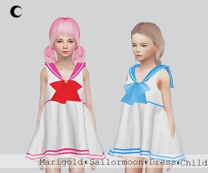 Sailormoon Dress For Child at Kalewa a image 1885 670x558 Sims 4 Updates