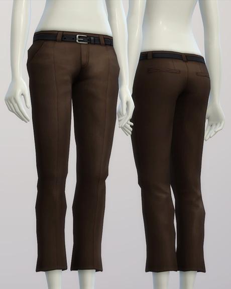 Basic slacks F 20 colors at Rusty Nail image 189 Sims 4 Updates