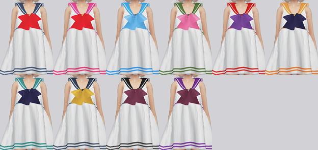 Sims 4 Sailormoon Dress at Kalewa a