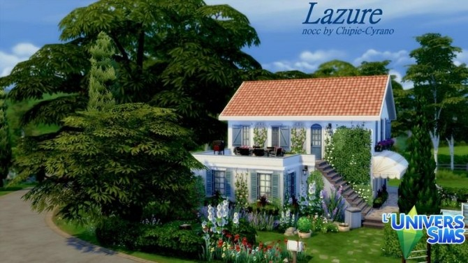 Lazure house by chipie cyrano at L'UniverSims image 19311 670x377 Sims 4 Updates