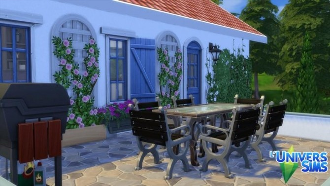 Lazure house by chipie cyrano at L'UniverSims image 19410 670x377 Sims 4 Updates