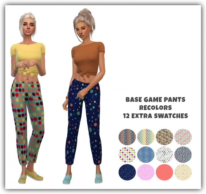 Pants recolors at Maimouth Sims4 image 1976 670x633 Sims 4 Updates