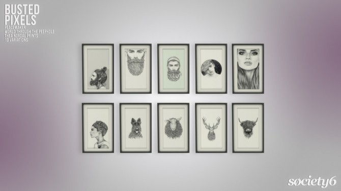 Peacemaker's Thea Nordal Prints Society6 at Busted Pixels image 1978 670x377 Sims 4 Updates
