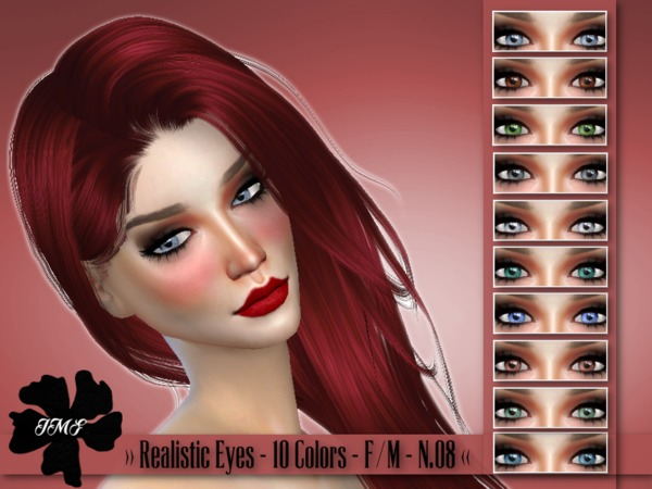 IMF Realistic eyes N08 F/M by IzzieMcFire at TSR image 2070 Sims 4 Updates
