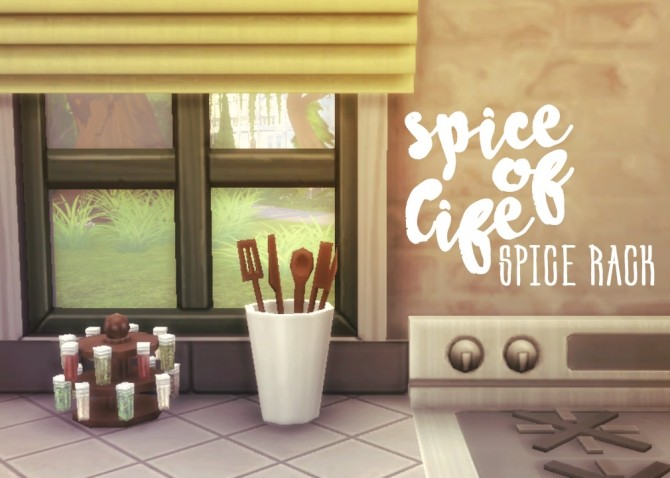 Spice of Life Spice Rack at Hamburger Cakes image 2088 670x478 Sims 4 Updates