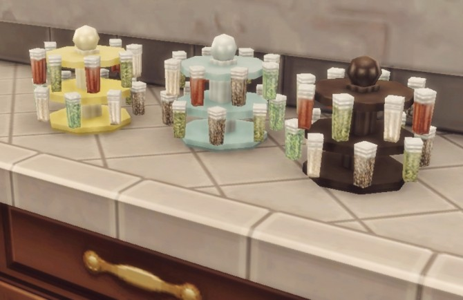 Spice of Life Spice Rack at Hamburger Cakes image 20910 670x434 Sims 4 Updates