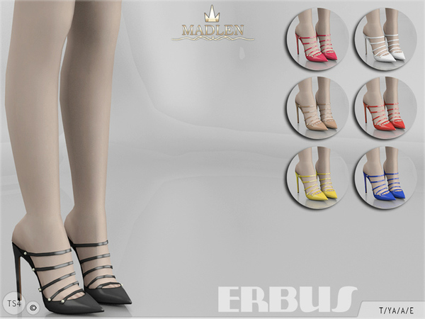 Sims 4 Madlen Erbus Shoes by MJ95 at TSR
