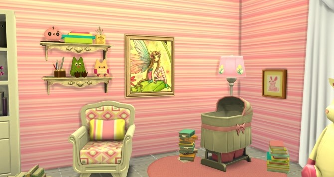 Sims 4 Girly deco items by FantaFlip at Sims 4 Studio